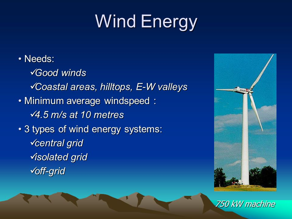WIND ENERGY Wind are produced by disproportionate solar