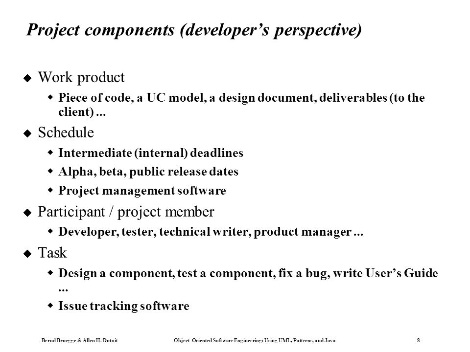 Using UML, Patterns, and Java Object-Oriented Software