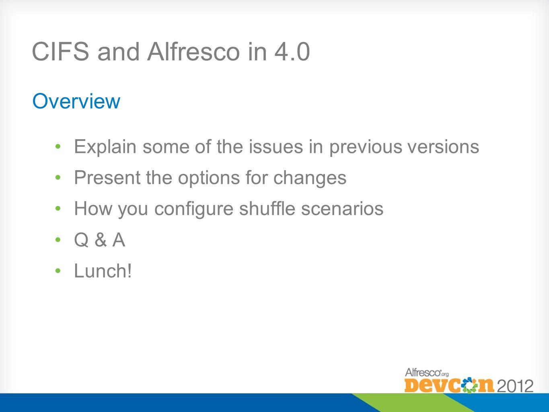 alfresco 4.0