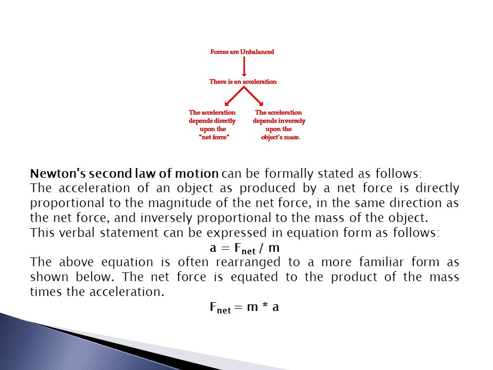 Chapter Four Notes Newton's Second Law Of Motion Linear. Worksheet. Unit V Worksheet 2 Kinematics Newton S 2nd Law At Mspartners.co