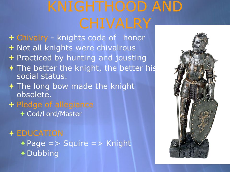 knights code of honor