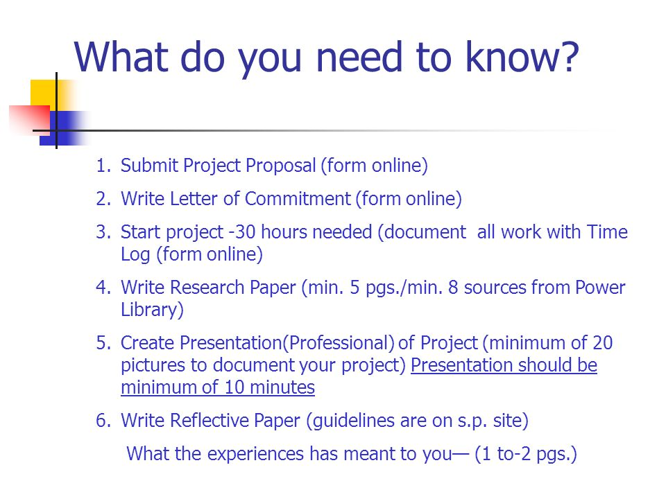Your senior project experience what do you need to know 1bmit 2 what expocarfo Images