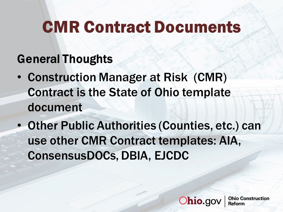 Cmr Contract Documents Jon Walden Manager Of Contracts Compliance