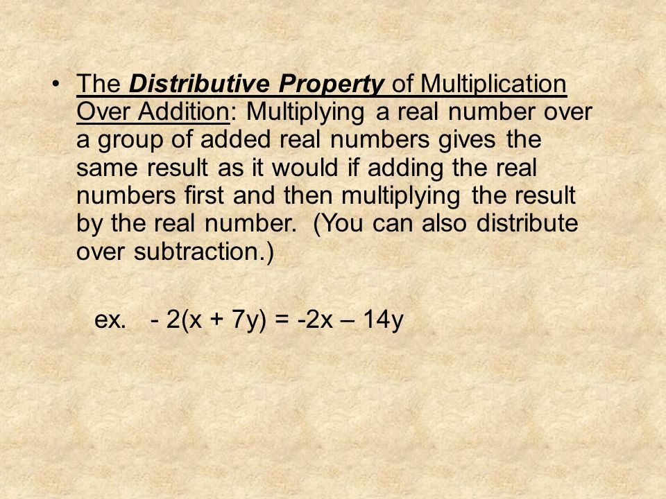 Number Sets & Properties  Number Sets Natural – Whole