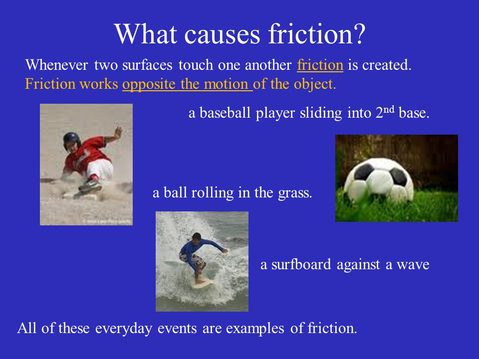 Friction Page 83 Question When Would You Want To Create Friction