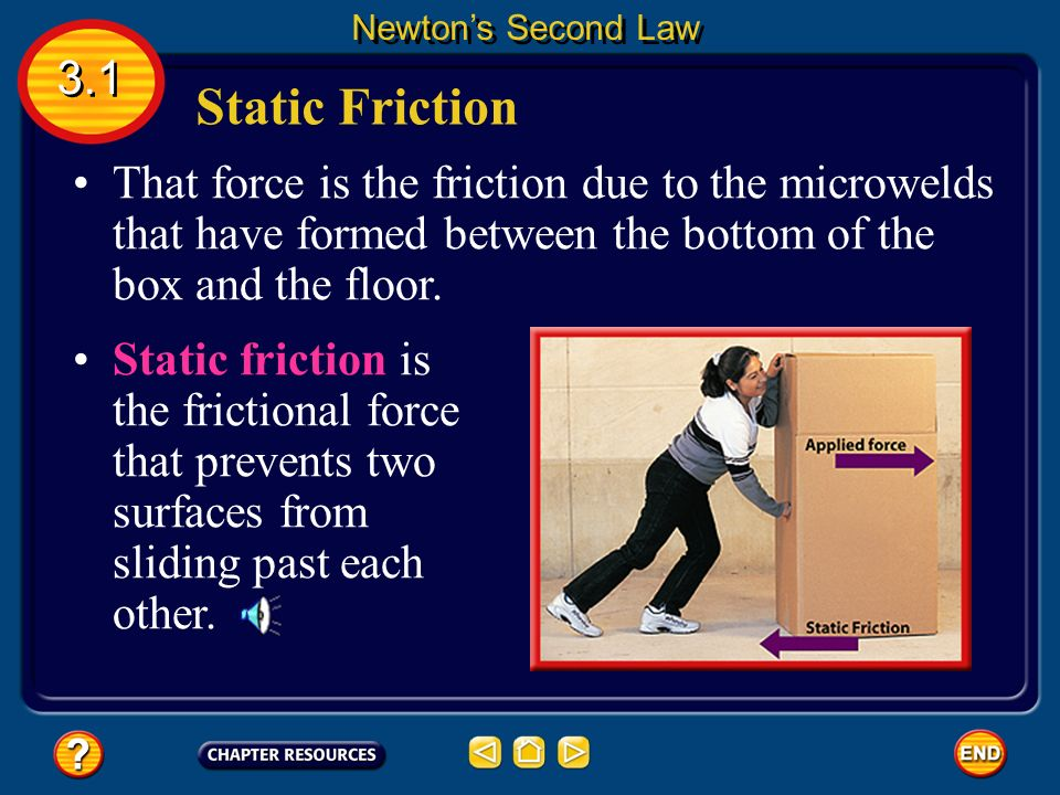 According to Newton's second law, if the acceleration is zero, then the net force on the box is zero.