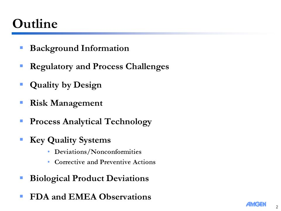 Quality and Compliance Challenges for Biopharmaceutical Products