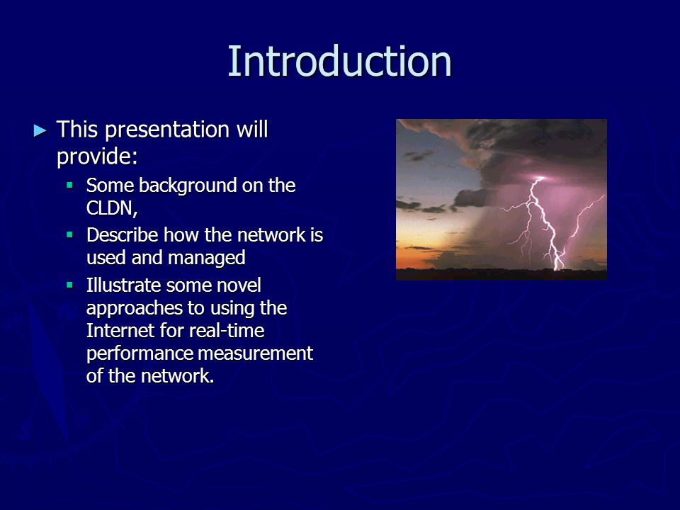 The Canadian Lightning Detection Network CLDN Novel Approaches