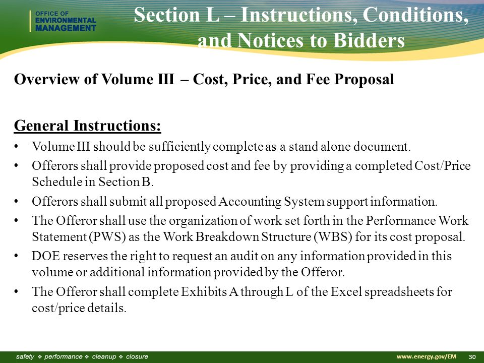 1 Tru Waste Processing Center Operations Pre Solicitation Conference