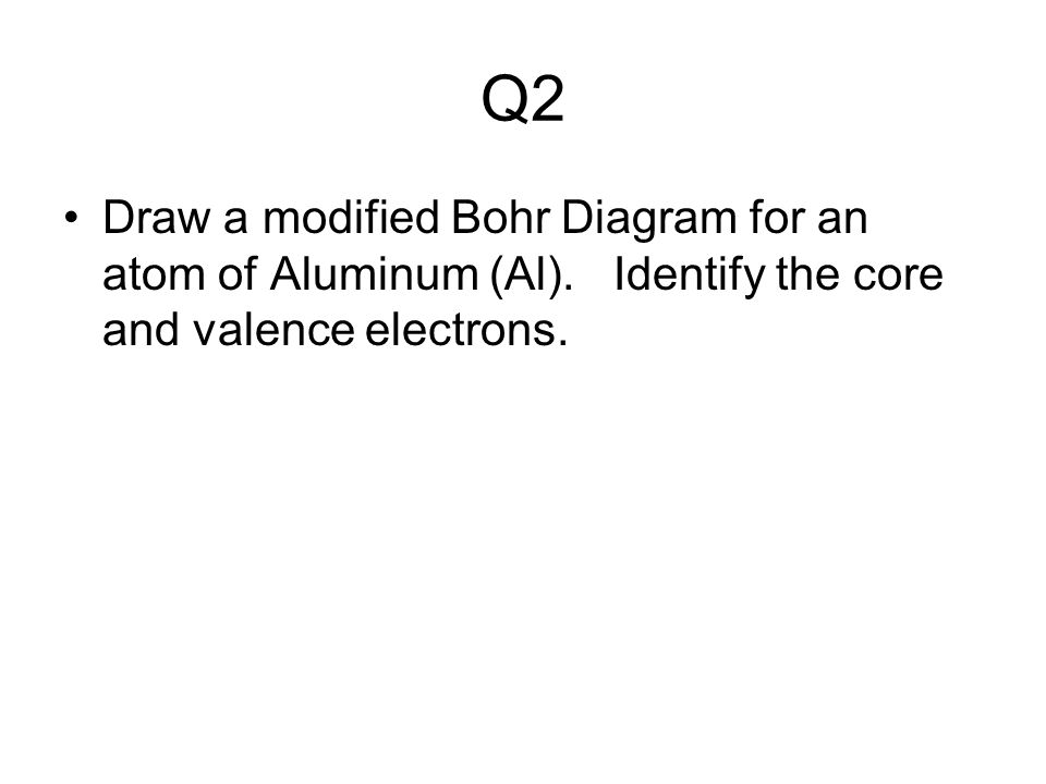 Homework Questions About Chemistry Through Valence Electrons Like