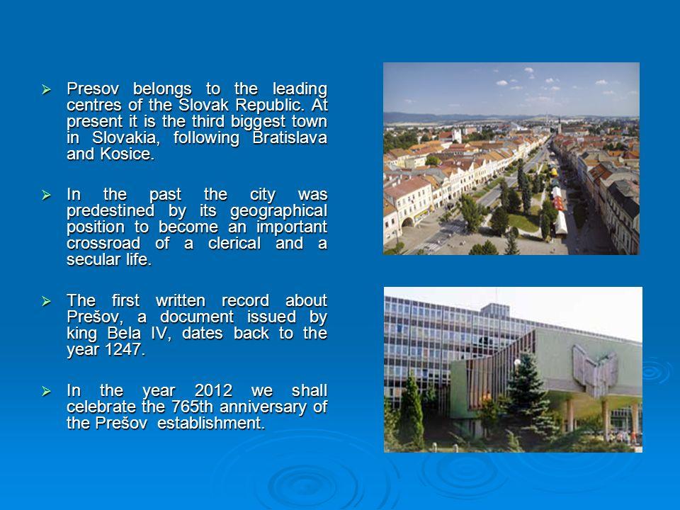 Slovakia  Slovakia  Official name: The Slovak Republic