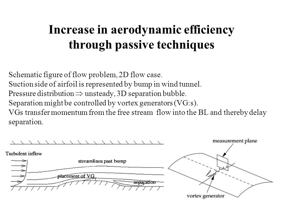 Control of Wind Turbine Flows using Vortex Generators Clara Velte