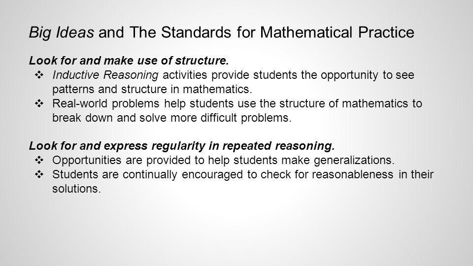 GV Middle School Mathematics Mrs  Susan Iocco December 10