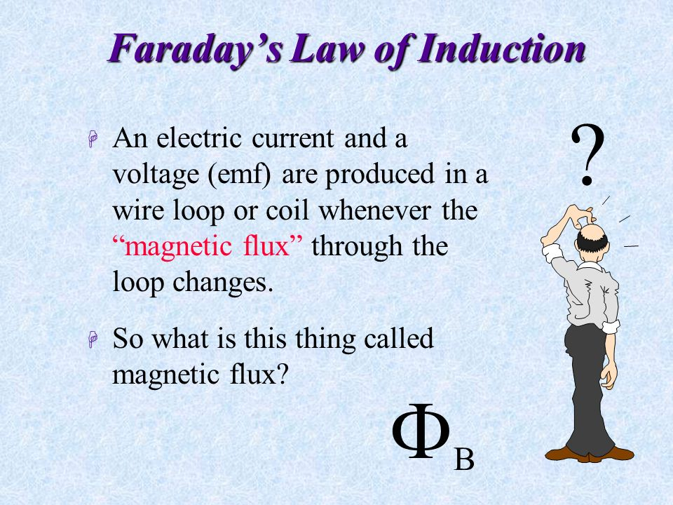 Faraday's Law of Induction (Henry's Law of Induction) H The current is called an induced current .