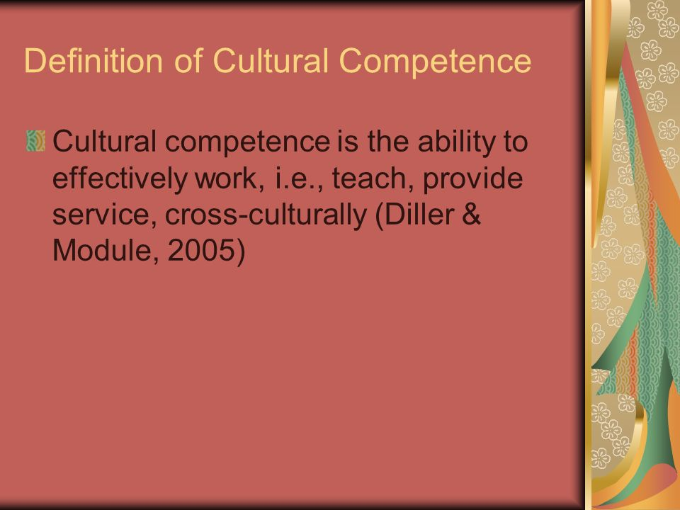 cross culturally definition