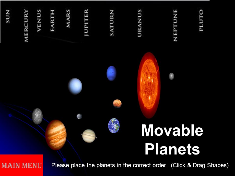 space learningobjectives understanding different planets