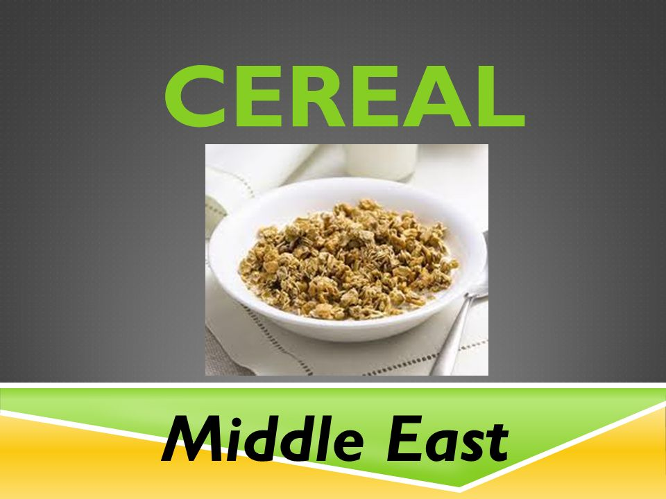 CEREAL Middle East