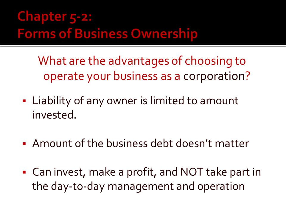What are the disadvantages of choosing to operate your business as a partnership.