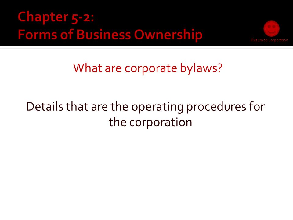 What is an article of incorporation.