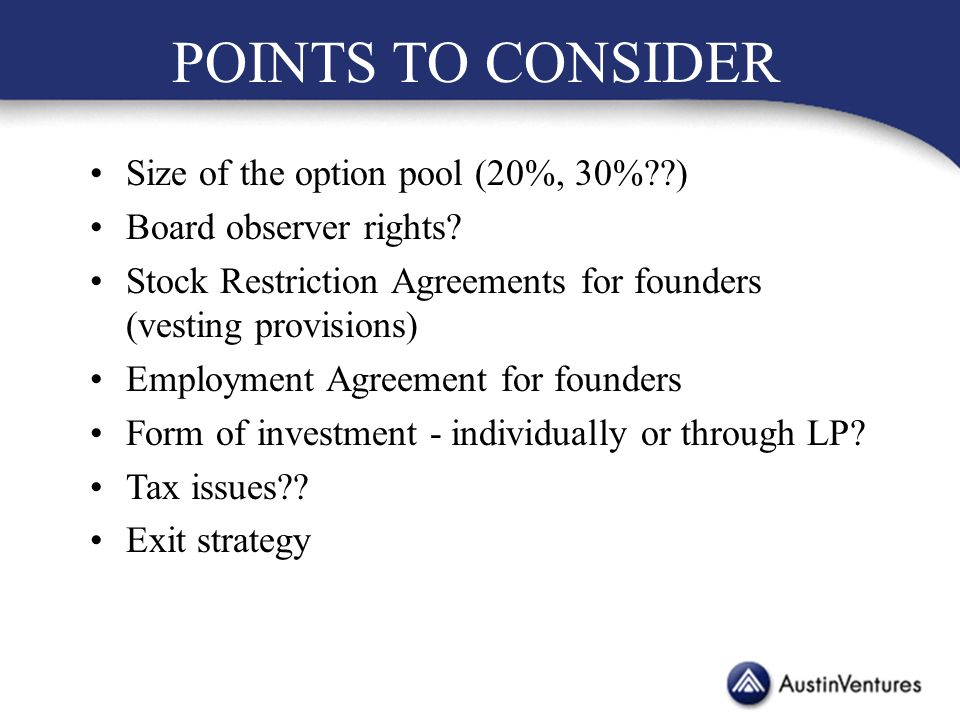 Business Law And Innovation Entrepreneurial Finance Lecture 5