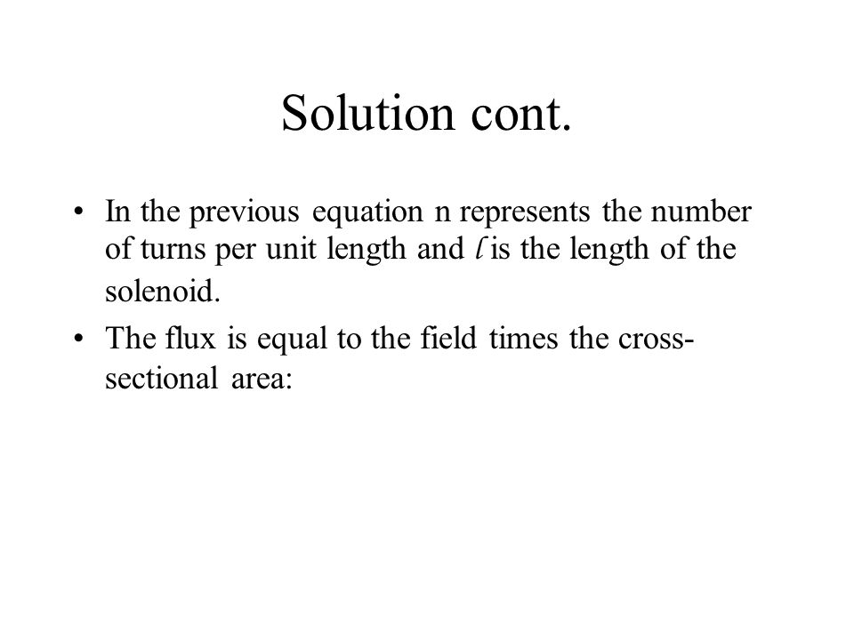 Solution cont.