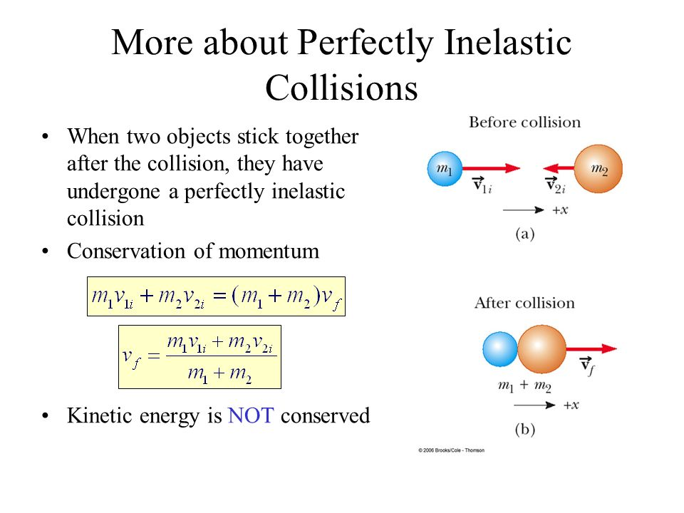 Conservation Of Momentum Energy In Collisions Given Some Information Using Conservation Laws We Can Determine A Lot About Collisions Without Knowing Ppt Download