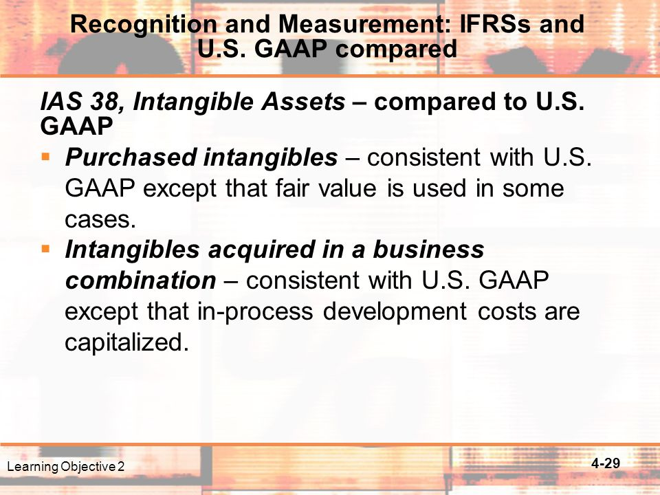 4-29 IAS 38, Intangible Assets – compared to U.S.