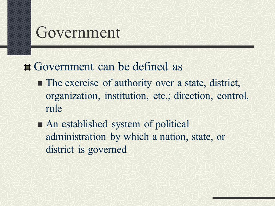 define state in political science