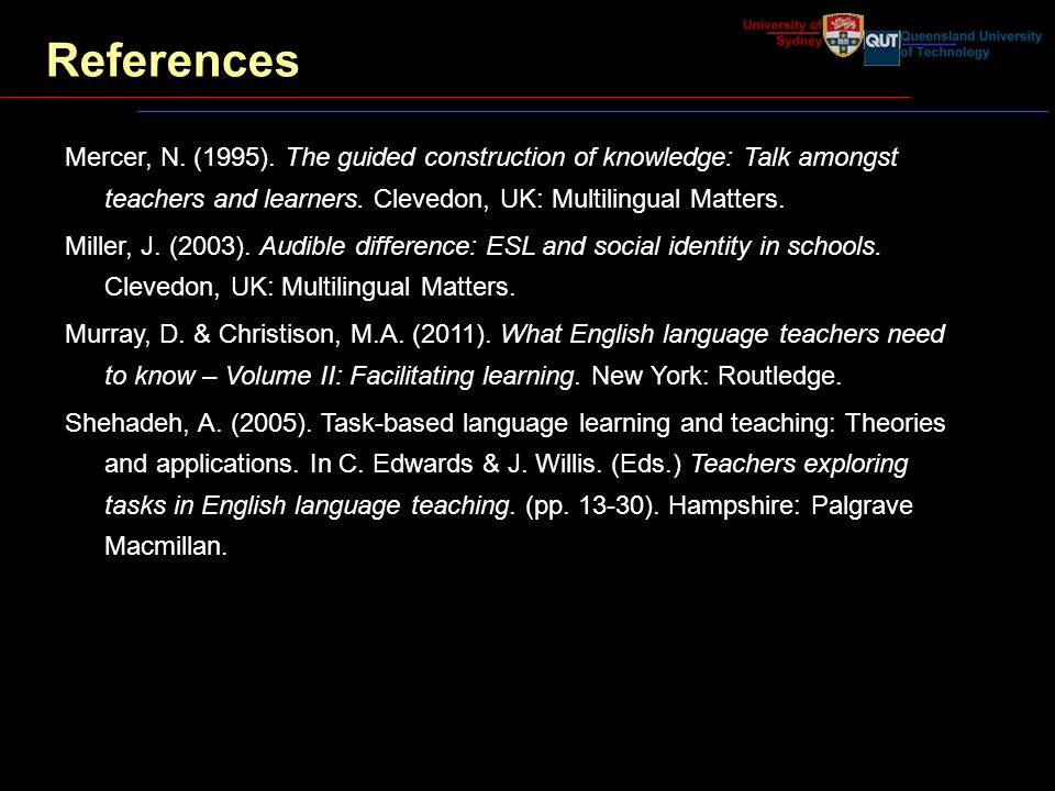 the guided construction of knowledge talk amongst teachers and learners talk among teachers and learners multilingual matters