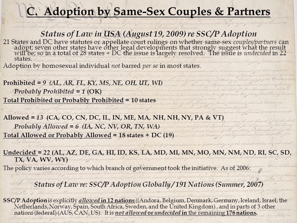 Obispo anglicano homosexual parenting