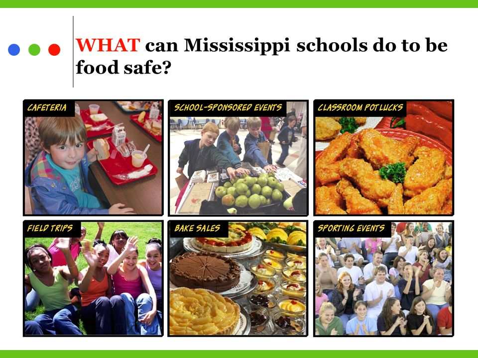 WHAT can Mississippi schools do to be food safe
