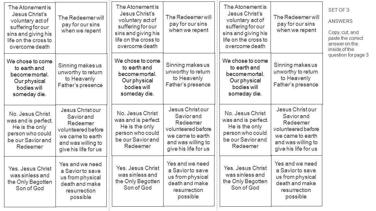 jesus christ our savior and redeemer