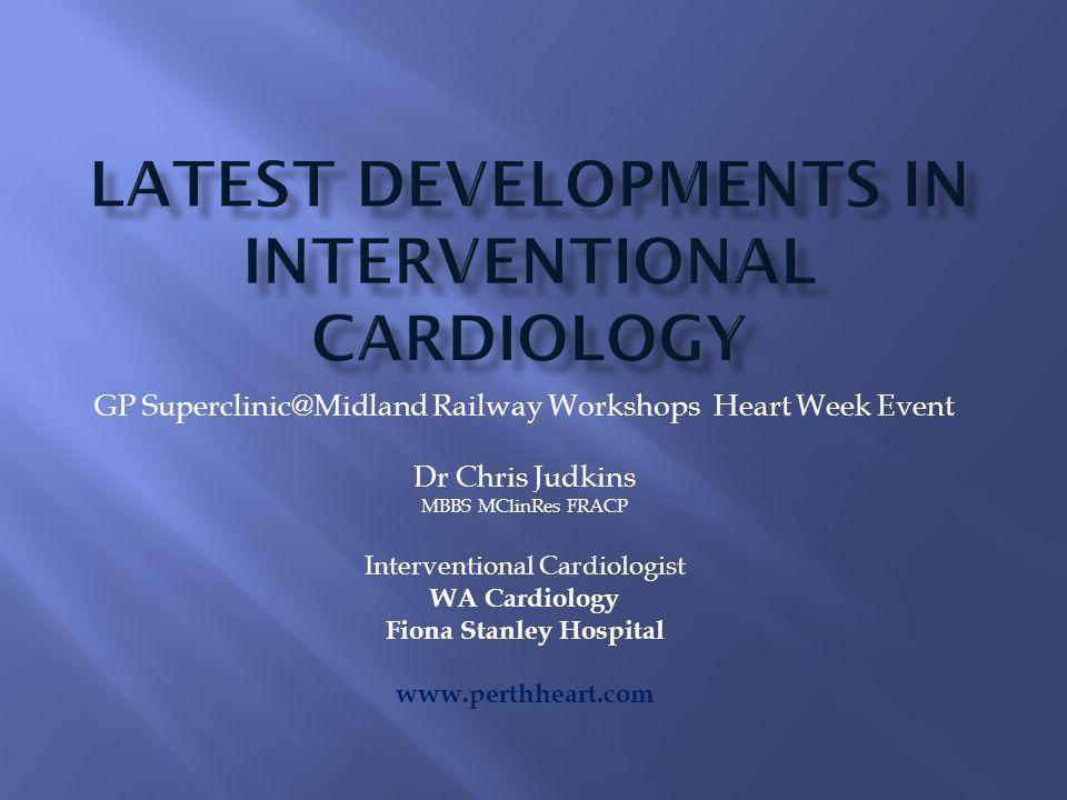 GP Railway Workshops Heart Week Event Dr Chris Judkins MBBS