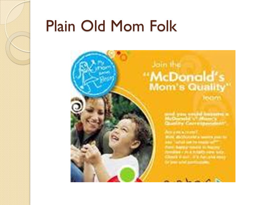 Plain Old Mom Folk