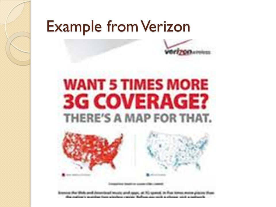 Example from Verizon