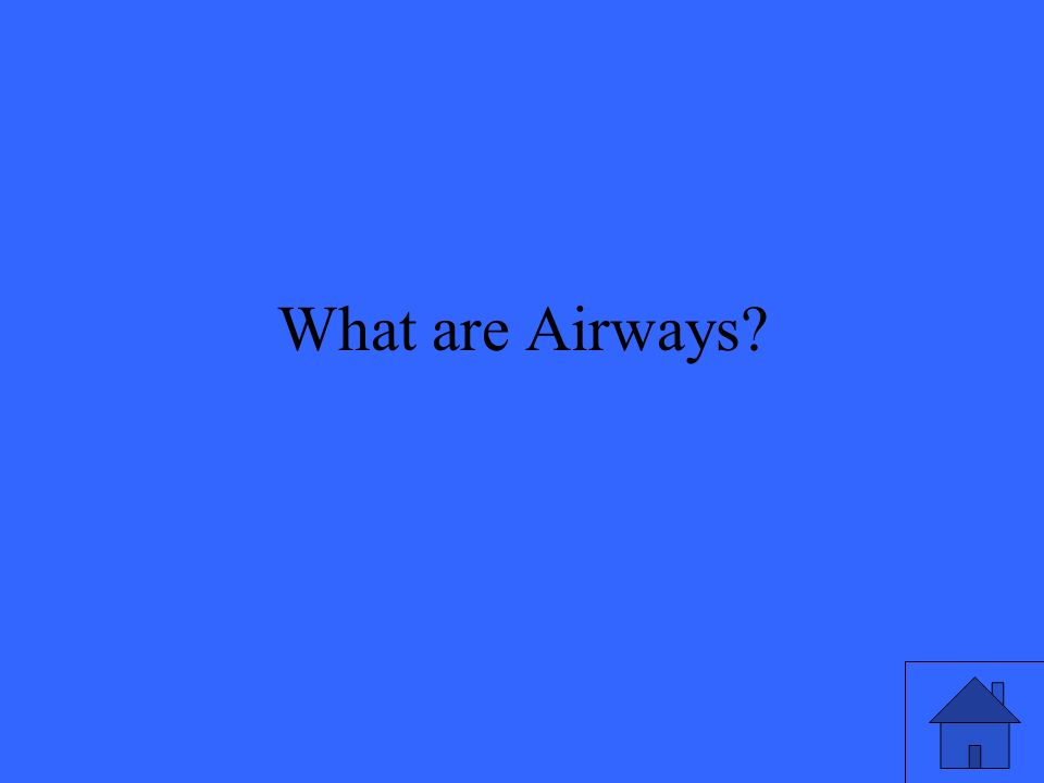 What are Airways