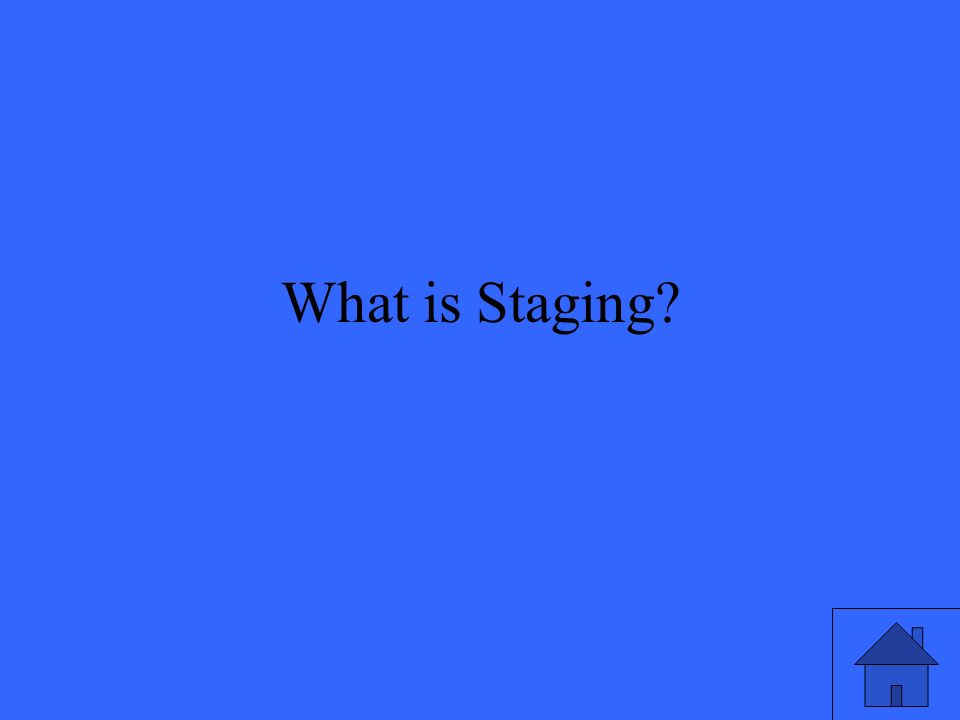 What is Staging