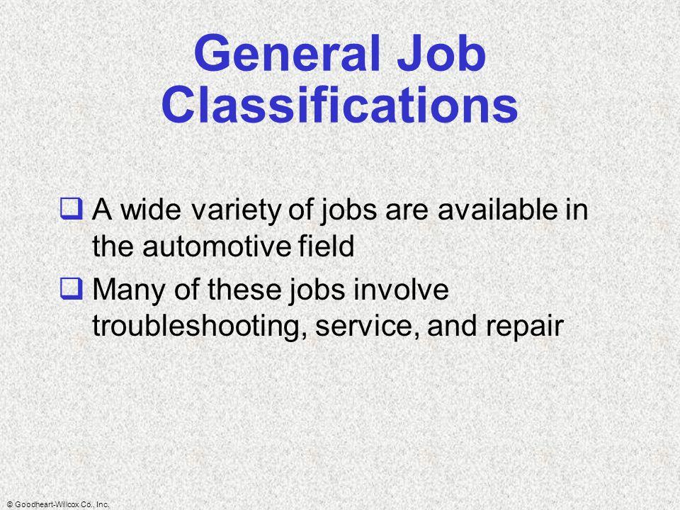 Goodheart-Willcox Co., Inc.  The automotive technician ...