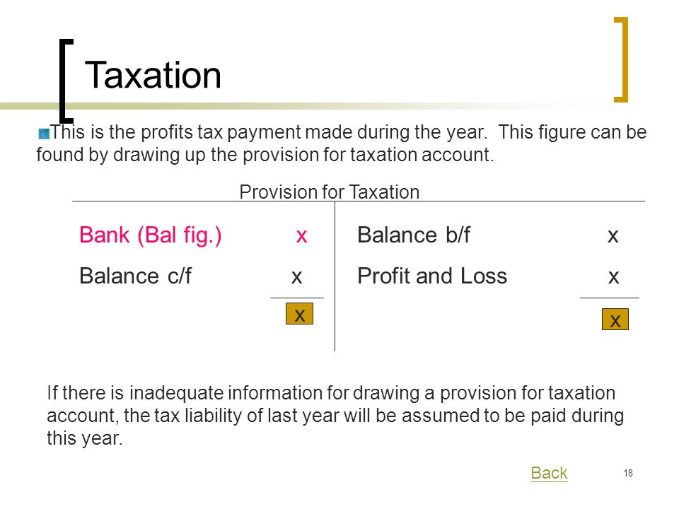 18 This is the profits tax payment made during the year.