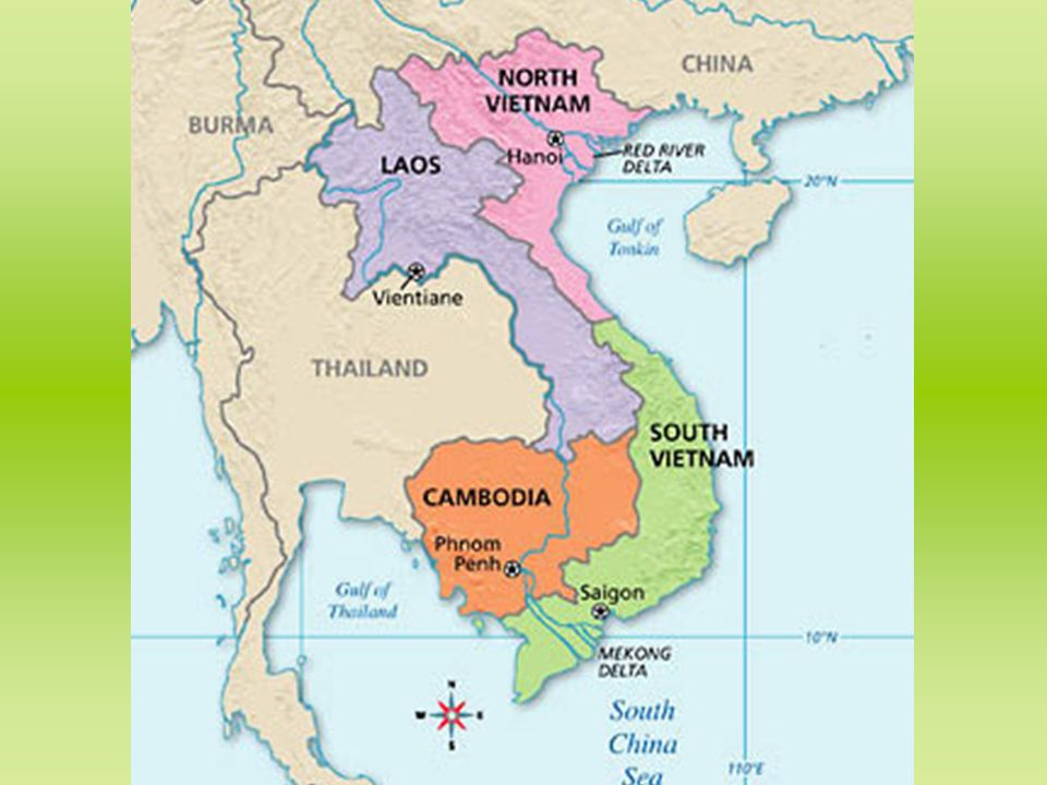 Map Of Asia During Vietnam War.Unit 7 The Vietnam War Era The Big Idea During The Cold War The