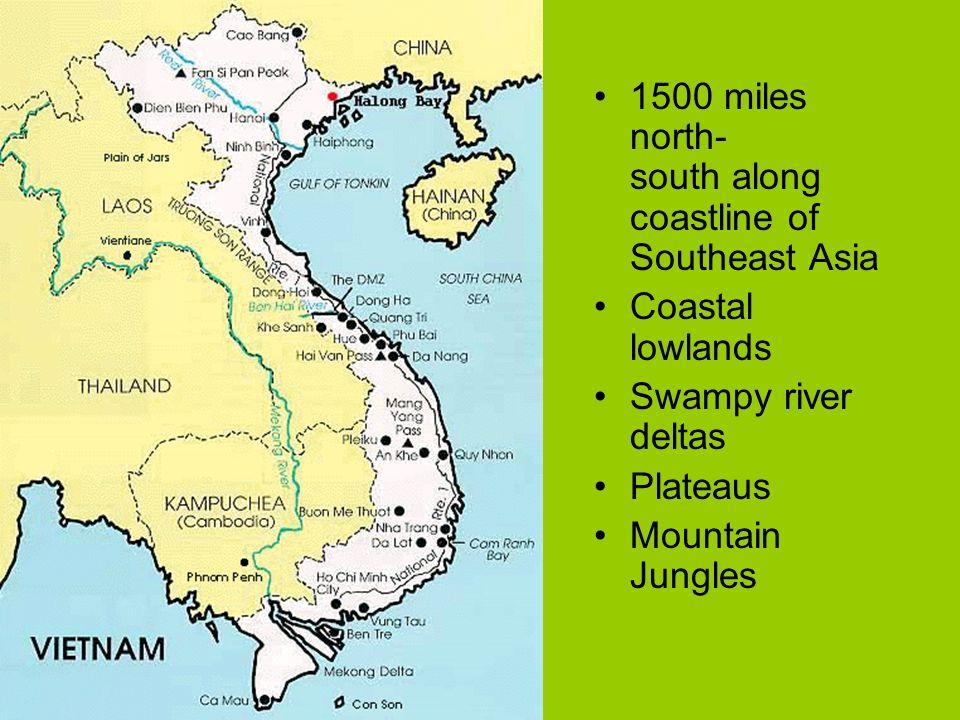 Map Of Southeast Asia Vietnam War