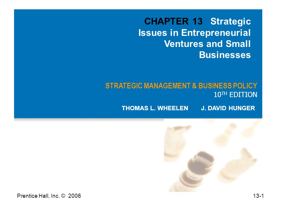 Prentice Hall Inc C Strategic Management Business Policy 10 Th