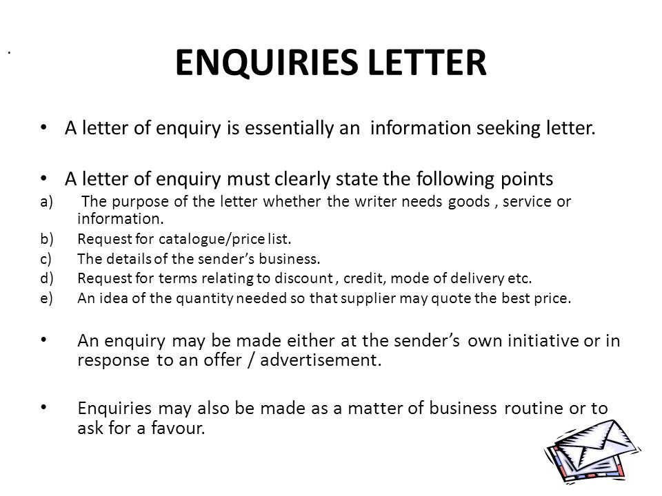 1 Index Introduction Of Business Letters Types Of Business