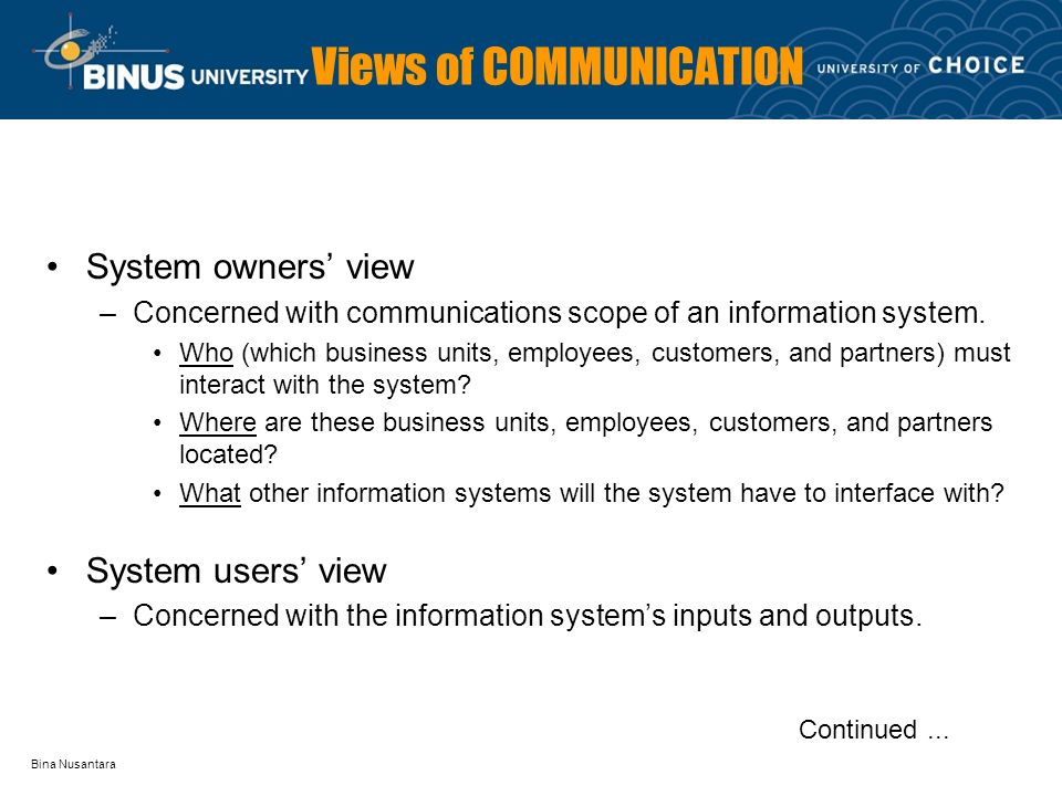 scope of information system in todays business