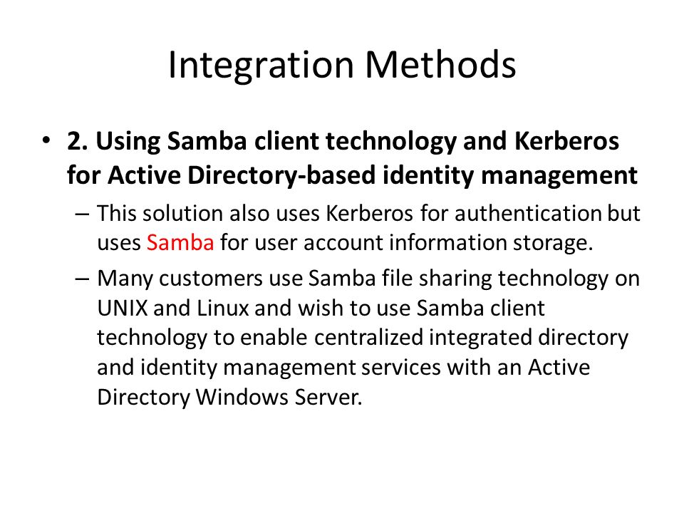 Windows interoperability with Unix/Linux  Introduction to Active