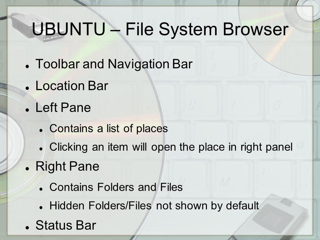 UBUNTU - Desktop Panel by default is across the top Applications