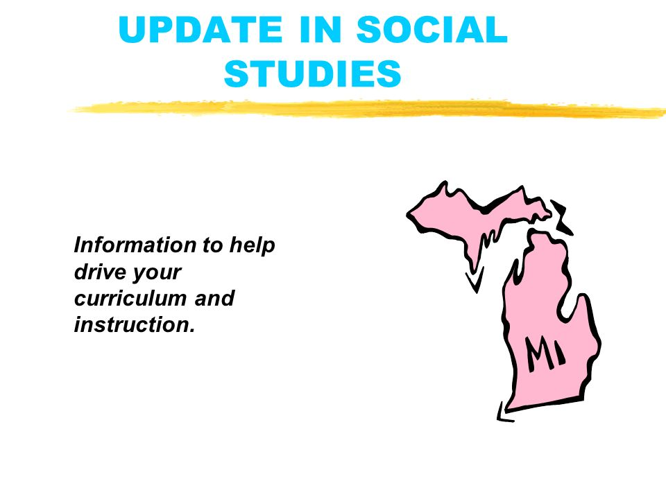 Curriculum And Instruction Social And >> Update In Social Studies Information To Help Drive Your Curriculum