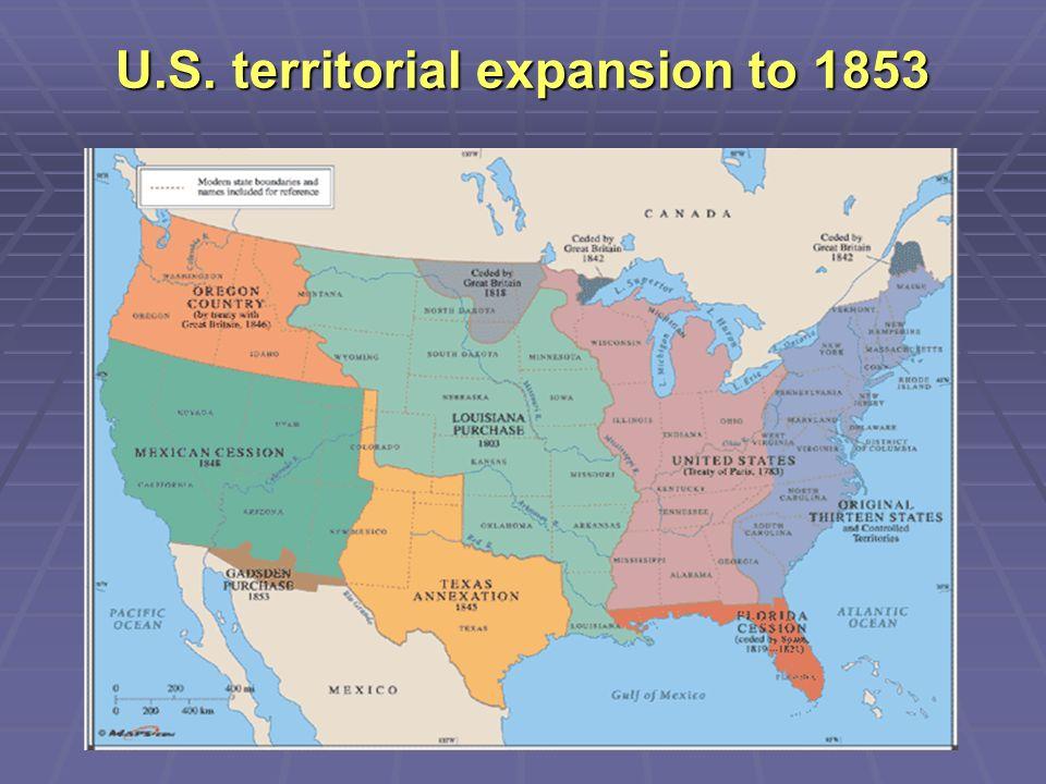 Us Territories 1860