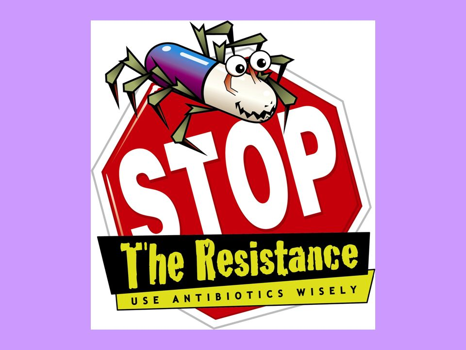Antibiotic resistance presentation.