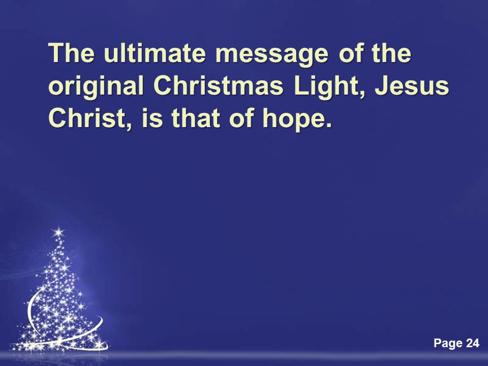 Click here to download this powerpoint template light christmas 24 click toneelgroepblik Gallery